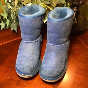 UGG Blue Classic Short Boots